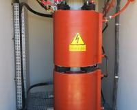 1500 kVA cast resin transformer in Kathu solar plant in South Africa