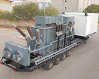 25 MVA transformer for mobile substation