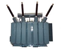 230 kV step-up transformer