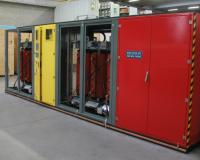 Cast resin trasformer for compact substation