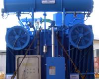 Power transformer for combined cycle power plant