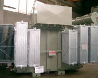Power transformer with ONAN cooling