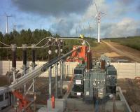 Step-up transformer for Terna plant
