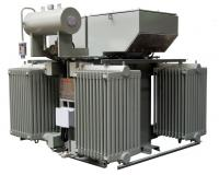 Transformer with radiators and conservator IP 55